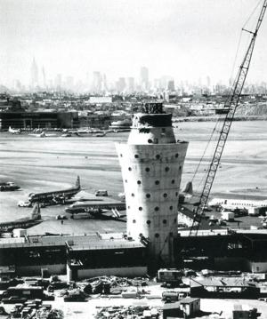 LaGuardia's 'ice cream cone' tower 1