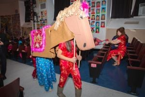 PS 203 celebrates Year of the Horse 3
