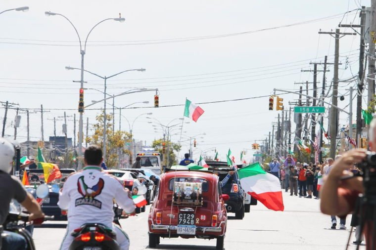 Italian pride on show in Howard Beach