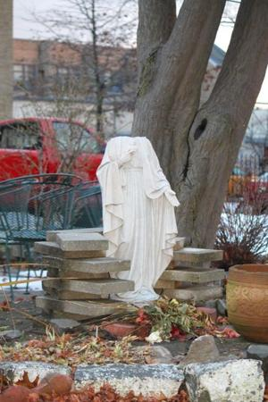 Virgin Mary statue decapitated at Ozone Park church
