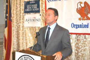 Astorino hits Cuomo on gov's home turf 1