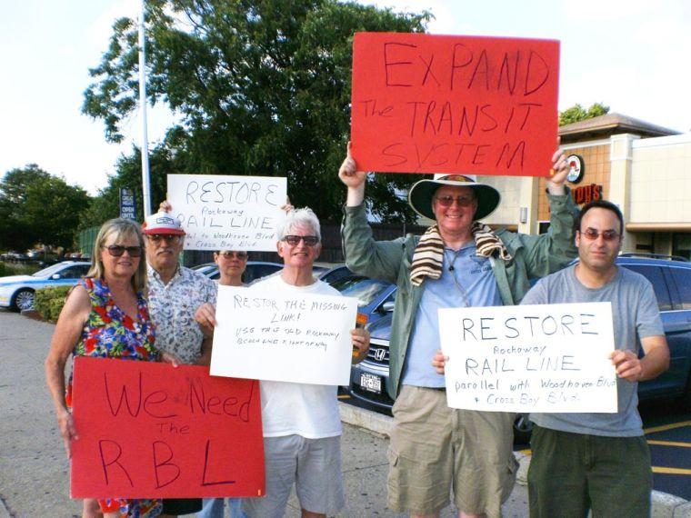 A rally to bring back Rockaway's railroad 1