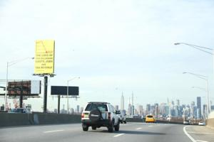 Billboards in city are going blank 1