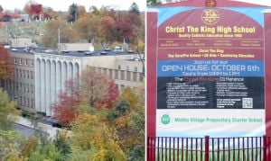 Christ the King High School sued 1