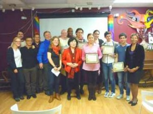 Queens Pride House honors its volunteers 
