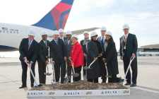 Officials break ground on Terminal 4 project