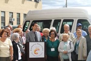 City helps fund van service for seniors 1