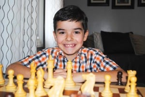 At the age of 7, a state chess champ 1