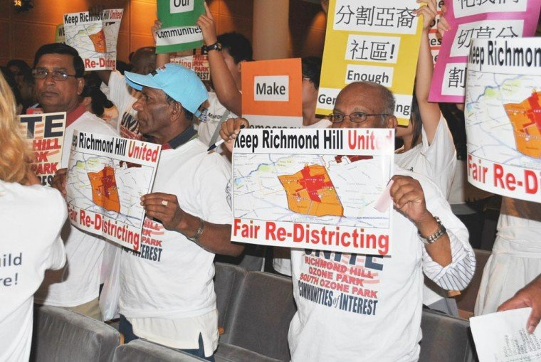 Redistricting panel hears ethnic pleas 1