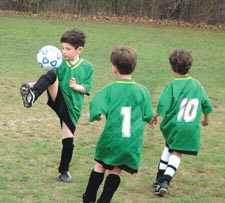Fall Soccer Is Popular With Queens Youngsters