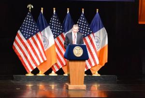 De Blasio makes inequality a priority 1