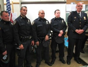 Addition of officers thrills 106th Pct. 1
