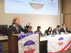 Candidates come out to St. John's 1