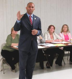 Rep. Jeffries meets Lindenwood Alliance 1