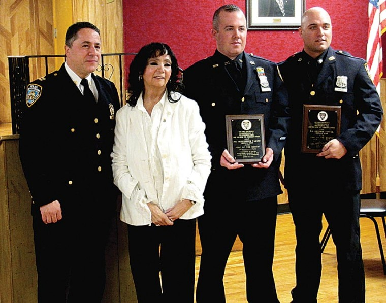 102nd cops honored at community council 1