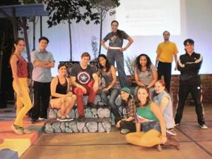 A modern take on the classic show 'Godspell' 1