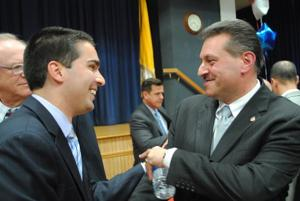 Addabbo, Ulrich debate in New York State 15th Senate District