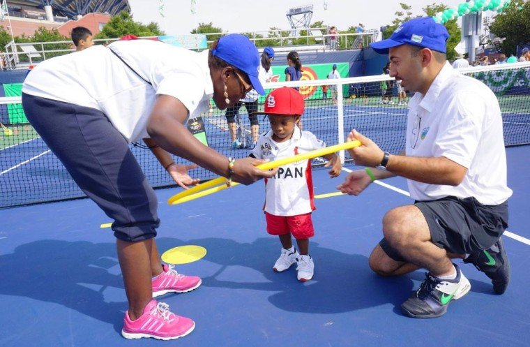 Arthur Ashe Kids Day — a great success