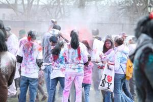 Holi Saturday in South Richmond Hill