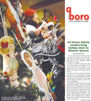 Art House Astoria carolers bring holiday cheer to Western Queens 1