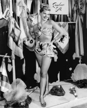 Barbara Nichols, Queens' pinup girl  1