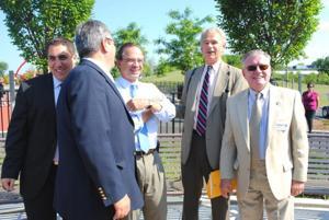Mayor cuts ribbon on Elmhurst Park