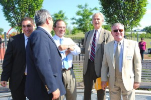 Mayor cuts ribbon on Elmhurst Park