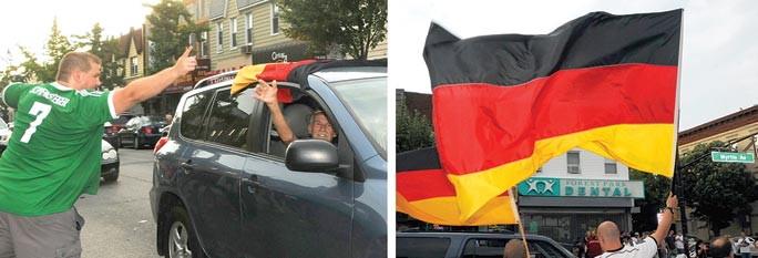 Goooaaal! Glendale celebrates Germany's win 2