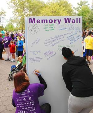 Alzheimer's walk a big draw 1