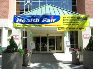 Regal Heights health fair 1