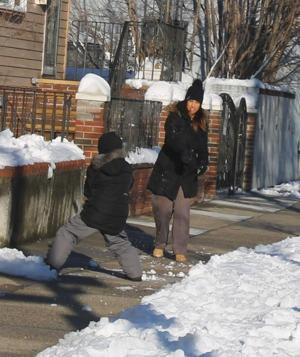 South Queens' sense of snow