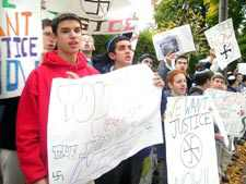 Yeshiva Students Picket Homes Of Two Suspected Former Nazis