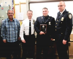 106th cop honored for alleged drug bust 1