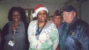 Veterans visit care center 1
