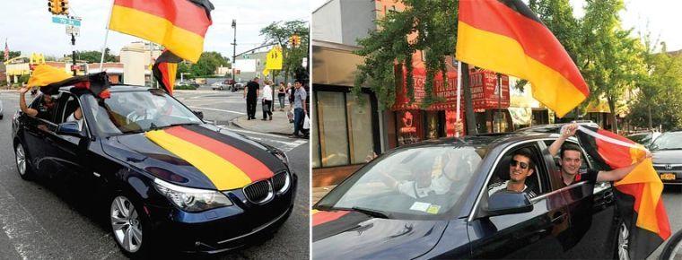 Goooaaal! Glendale celebrates Germany's win 3