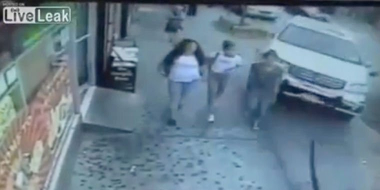 SUV slams into five teenagers 1