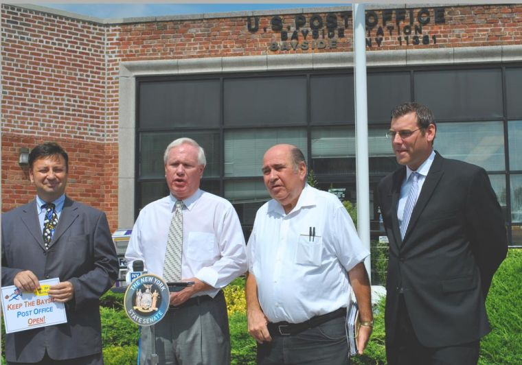 Bayside PO gets reprieve from USPS 1
