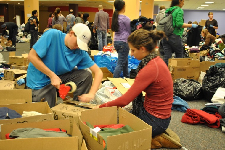 Hurricane relief drive booms at Atlas Park