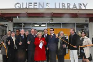 Broad Channel library reopens after Sandy 1