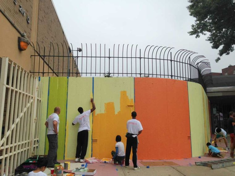 Flushing school gets facelift 1