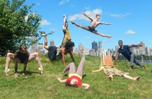 Site-specific dances at Socrates Sculpture Park 2