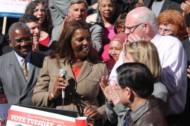 For runoff, James gets Queens Dems support 1