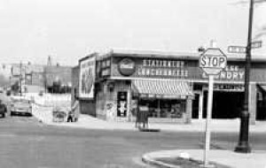 Shopping in the '50s on 35th Ave. in Bayside