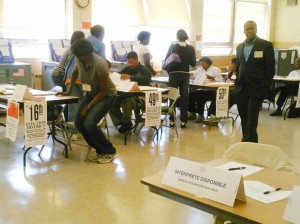 Primary Day chaos deters some voters  1