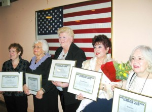 Women honored as top civic leaders 1