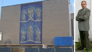 Holden helps save historical mosaic 1