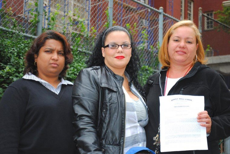 Parents fight for gym at PS 90 1