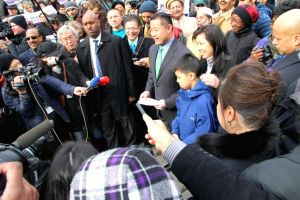 John Liu declares mayoral candidacy 1