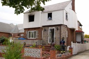 Fire guts home in South Ozone Park 1