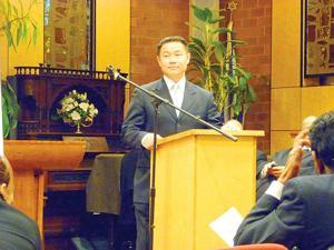 Liu 'reassesses' after arrest made  1
